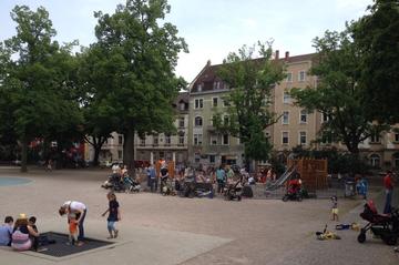 Spielplatz am Fliederplatz (Mühlburg)