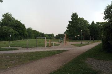 Spielplatz Gans im Horbachpark