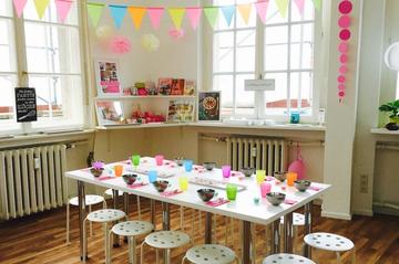 Schoko-Werkstatt für Kindergeburtstag