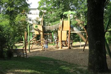 Kinderspielplatz Dschungel
