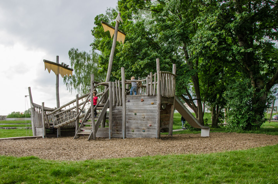 Spielplatz in Maxau am Rhein