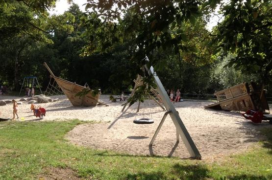 Spielplatz Rechts der Alb in Dammerstock