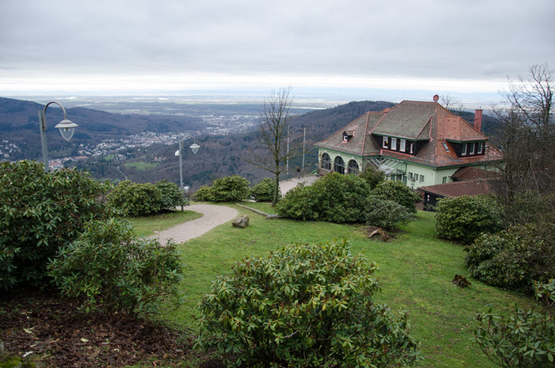MerkurBergbahn in Baden-Baden